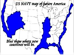 Map Of Usa East Coast by Agenda 21 Us Navyfuture Map East U0026 West Coast Madrid Fault Line