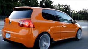 orange volkswagen gti fahrenheit gti full version youtube