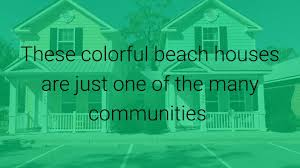 Colorful Beach Houses by Tiny Houses In Myrtle Beach Youtube