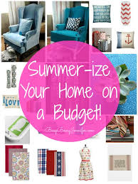 budget friendly ways to summer ize your home decor busy being