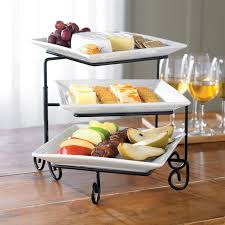 tiered serving stand 3 tier buffet server set i bought this at great for sweet