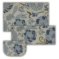 William Sonoma Kitchen Rugs Kitchen Provence Cushioned Mat Williams Sonoma Intended For Blue