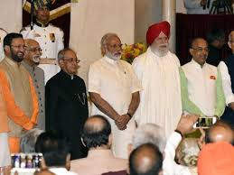 Modi Cabinet List Modi Ministry Gets A New Look Here Is A List Of Ministers Sworn
