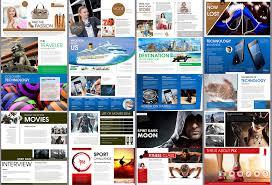 Magazine Presentation Template powerpoint magazine template onmyoudou info