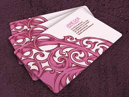girly business cards 100 free business card templates