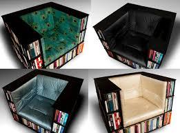 Bookshelf Seat A Bookshelf Chair For Bookworm