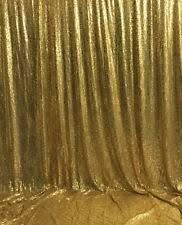 sequin gold curtain ebay