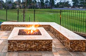 Custom Fire Pit by Custom Fire Pits By Creekstone Outdoor Living In Houston Texas