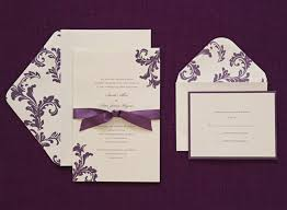 brides wedding invitation kits purple wedding invitations kits lovely brides purple wedding
