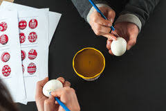 Decorating Easter Eggs With Wax by Decorating Easter Eggs With Wax Stock Photo Image 65871938