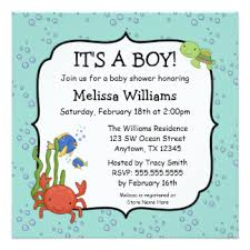 the sea baby shower invitations fishing baby shower invitations announcements zazzle