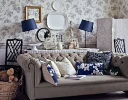 Country Style Sofa by Decorating In English Country Style