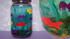 aquarium kids crafts youtube
