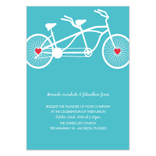 blue bike wedding invitation invitations cards on pingg
