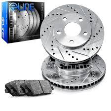 lexus rx300 brake pads and rotors amazon com 1995 2000 lexus ls400 front eline drilled slotted