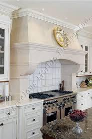 Carolina Country Kitchen - french range hoods stone marble range hood design atlanta