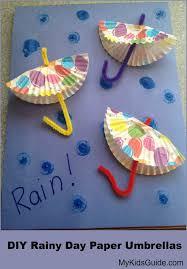 How To Make Paper Umbrellas - craft for diy rainy day paper umbrellas my guide