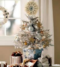 home decorating small tree on the table interior design