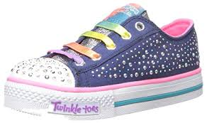 skechers womens light up shoes skechers kids twinkle toes chit chat light up lace up sneaker