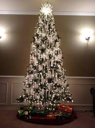 decoration purple and silver christmas tree decorating ideas