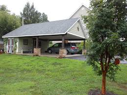 Attached Carports Philadelphia Attached Carport Plans Shed Traditional With West