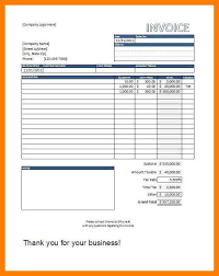 9 ms excel invoice template free delivery challan