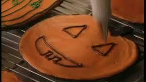 Decorate Pumpkin Video How To Decorate Pumpkin Shaped Cookies Martha Stewart