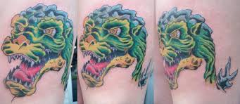 godzilla tattoo by jakew on deviantart