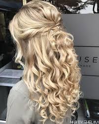 hairpiece stlye for matric half up half down prom hairstyles matric dance diamanté decor