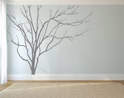 realistic winter tree wall decal headboard wall decal home zoom
