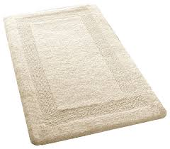 Cotton Bath Rugs Reversible Natural Reversible Cotton Bath Rug Arizona Contemporary Bath