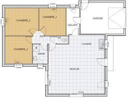 plan maison rdc 3 chambres plan maison rdc 3 chambres affordable plan rdc maison maison with