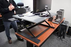 victor high rise dcx760 standing desk converter review