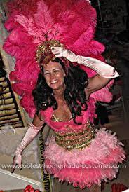 Showgirl Halloween Costume Showgirl Costume Costuming Beads