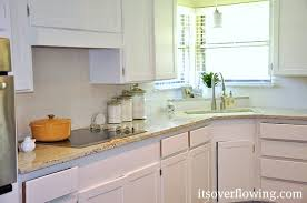 easy guide to painting kitchen cabinets its overflowing