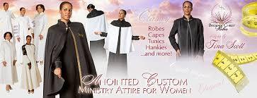 bride of christ robes tina scott