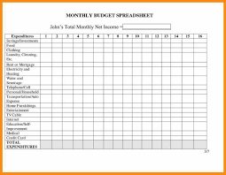 spreadsheet examples for small business with 8 monthly expenses