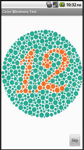 Blue Color Blind Test Color Blindness Test Android Apps On Google Play