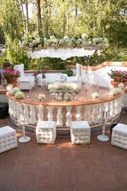 reception décor photos all white outdoor lounge décor inside
