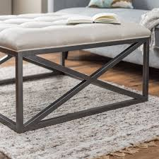 oval tufted ottoman coffee table 4 styles of tufted coffee table