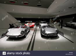 porsche concept interior interior view with porsche sports cars new porsche museum stock
