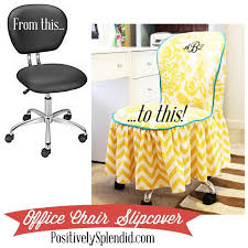 slipcover tutorial for chairs diy office chair slipcover free tutorial sewing 4 free