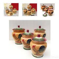 rooster canisters kitchen products rooster canisters for the kitchen flour sugar coffee tea food