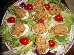 que cuisiner avec des oeufs recette d oeufs farcis aux sardines par jeanmerode