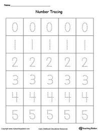 tracing and writing number words 6 10 writing numbers number