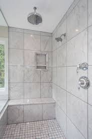 Ceiling Mounted Rain Shower by Apartments Charming Bathroom Design Ideas With Ceramic Wall Tile