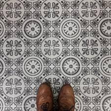 patterned linoleum flooring meze