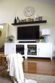 Home Decorating Ideas Living Room Walls by Best 25 Entertainment Center Decor Ideas On Pinterest Tv