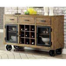 kitchen server furniture this eye catching industrial inspired server features