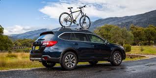 blue subaru outback 2017 2017 subaru outback 2 5i premium mountain bike adventure photos
